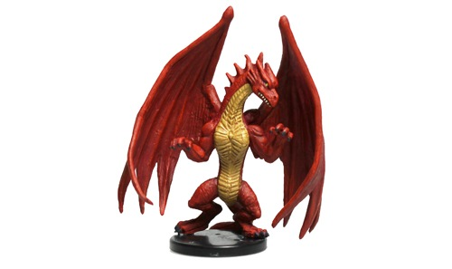 Medium Red Dragon