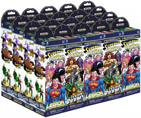 Superman and the Legion of Super-Heroes Booster Pack Case