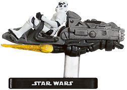Stormtrooper on Repulsor Sled