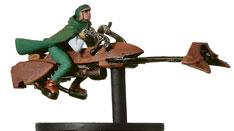 Commando On Speeder Bike